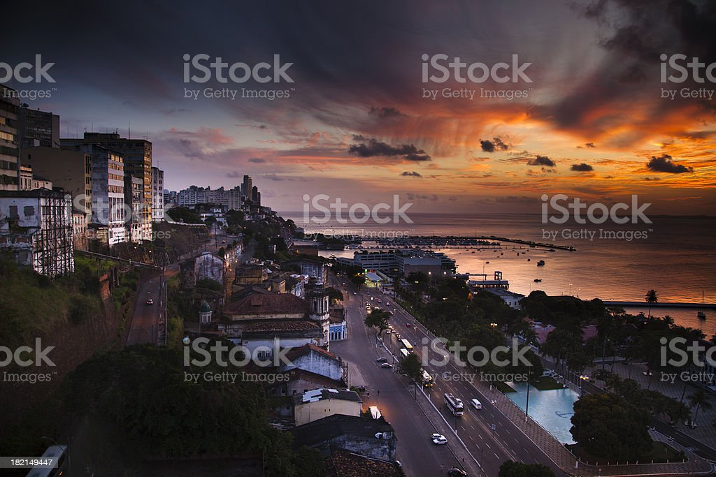 Salvador de Bahia - Brazil stock photo