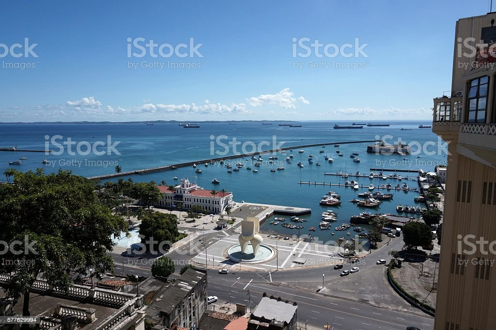 Salvador de Bahia stock photo