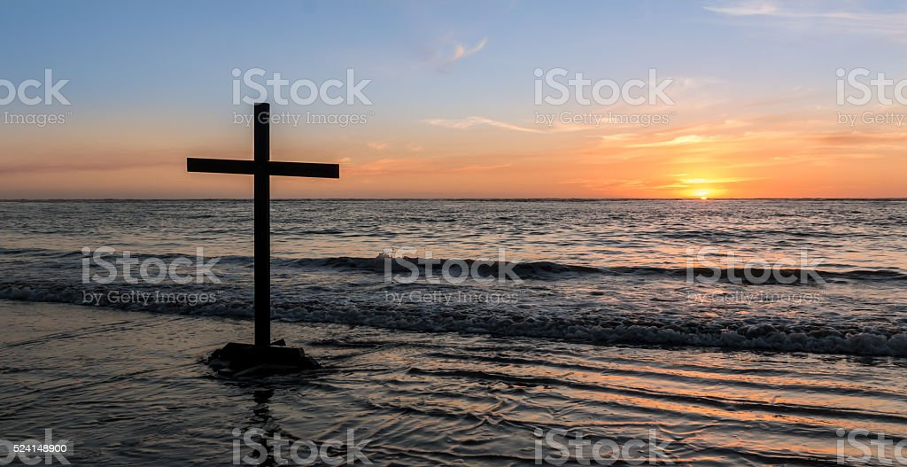 Salvation Waves stock photo