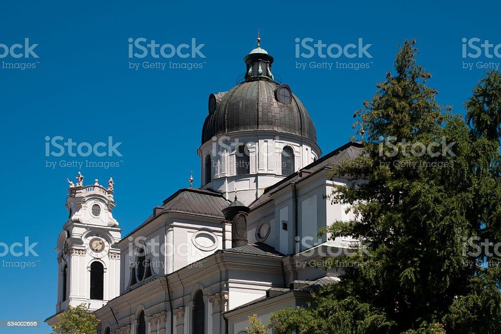 Salzbourg, Trinity church stock photo