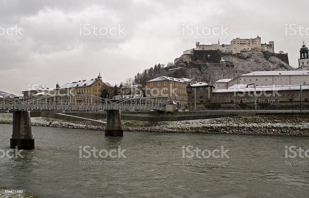 Salzburg Austria stock photo