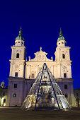 Salzburg Cathedral (Salzburger Dom) at Domplatz, Salzburg, Austria