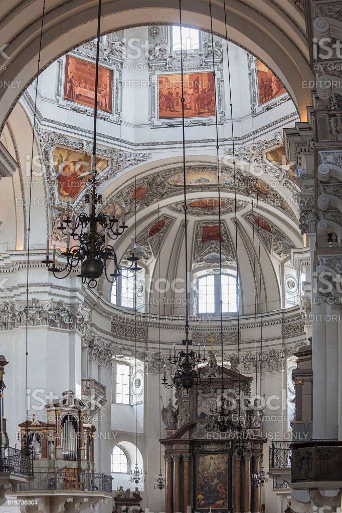 Salzburg Cathedral - Austria stock photo
