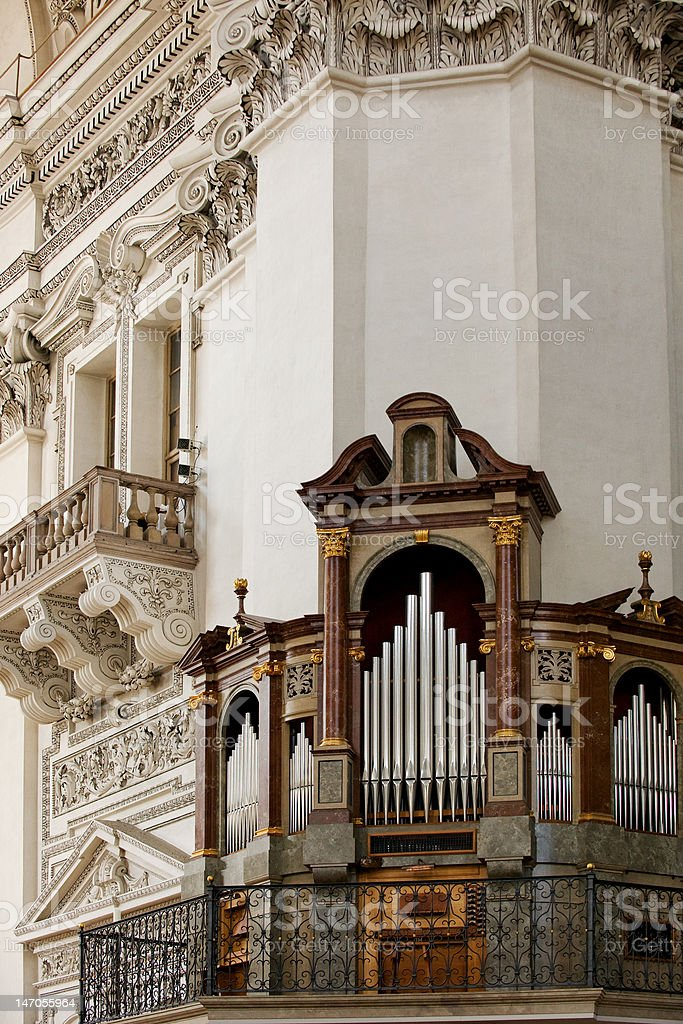 Salzburger Dom Cathedral royalty-free stock photo