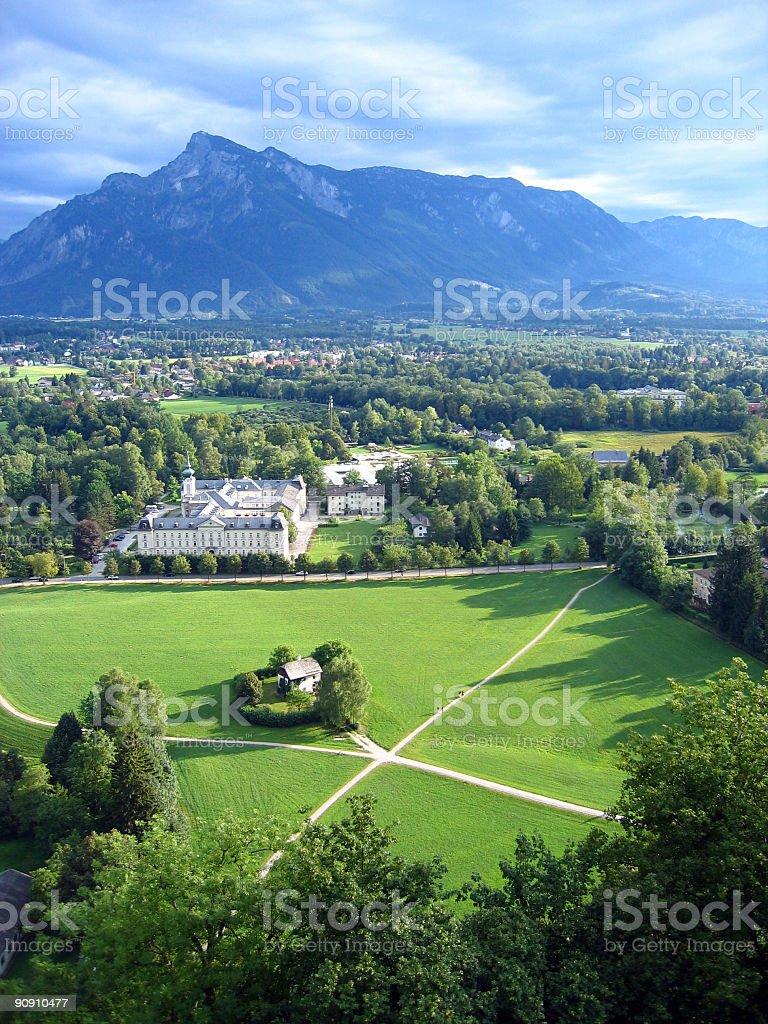 Salzburg Land, Austria royalty-free stock photo