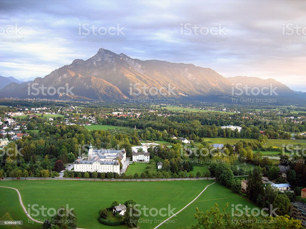 Salzburg Land, Austria stock photo