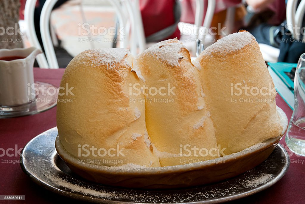 Salzburger Nockerl stock photo