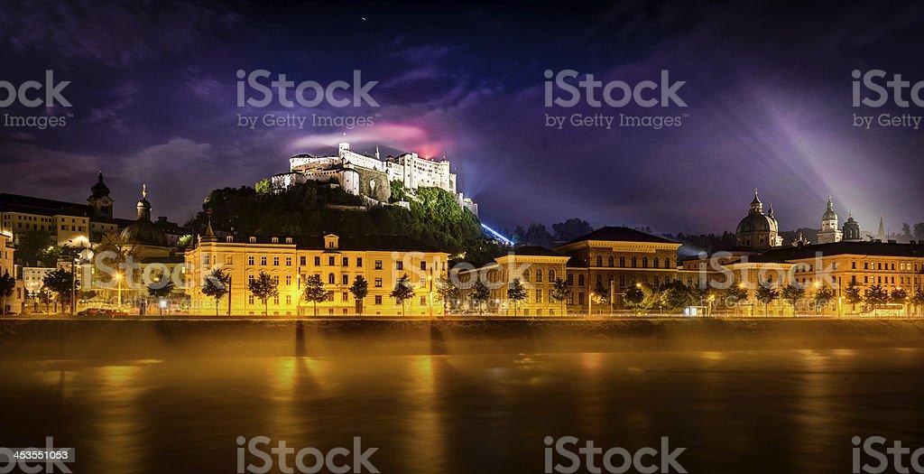 Salzburg stock photo