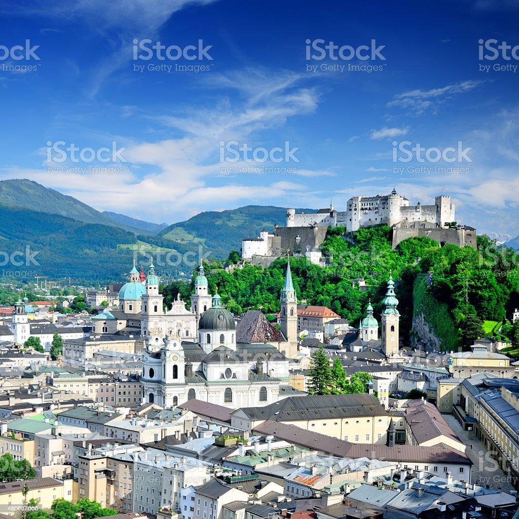 Salzburg stock photo