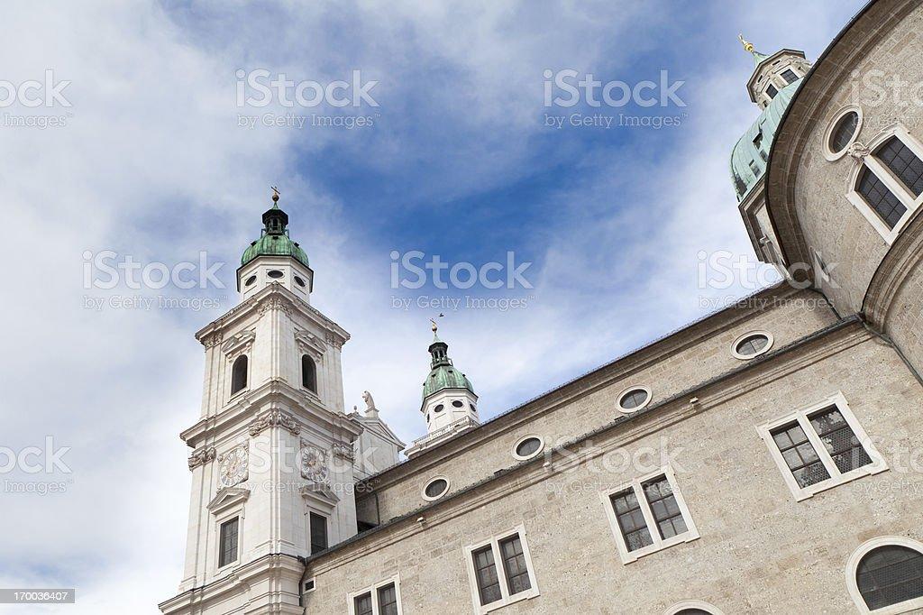 Salzburger Dom royalty-free stock photo