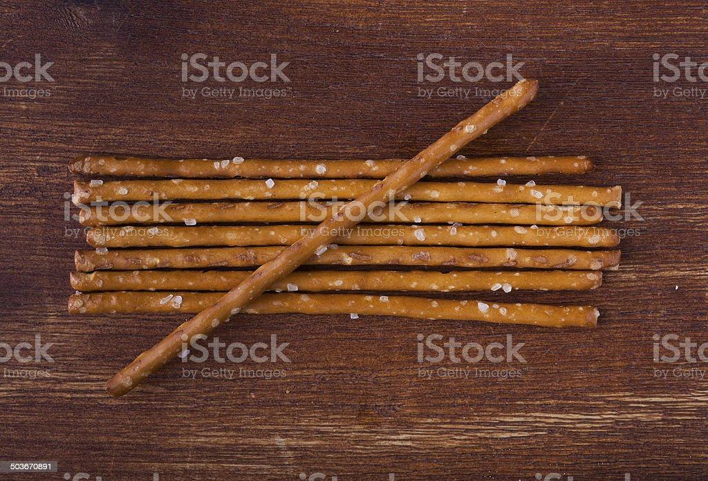 Salzstangen stock photo