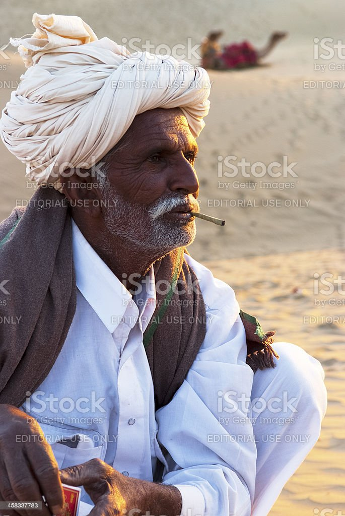 Sam Sand Dune, Jaisalmer stock photo