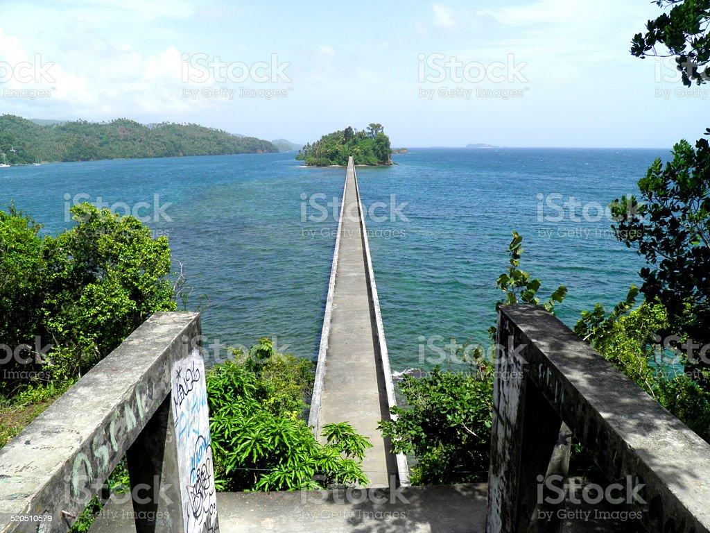 Puente de samaná República Dominicana foto de stock libre de derechos