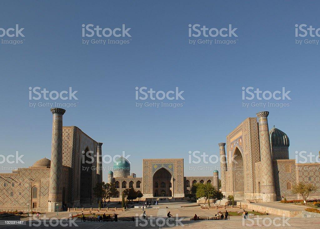 Samarkand royalty-free stock photo