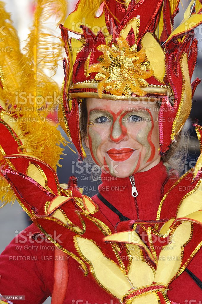 Samba Carnival Bremen royalty-free stock photo