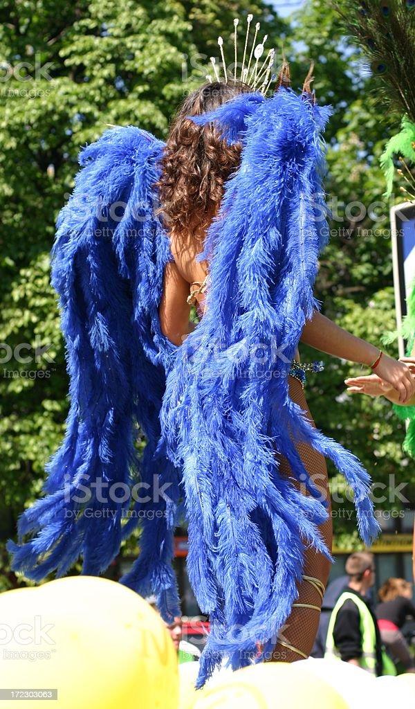 samba dancer royalty-free stock photo