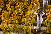 Samba School presentation in Sambodrome in Rio de Janeiro carnival
