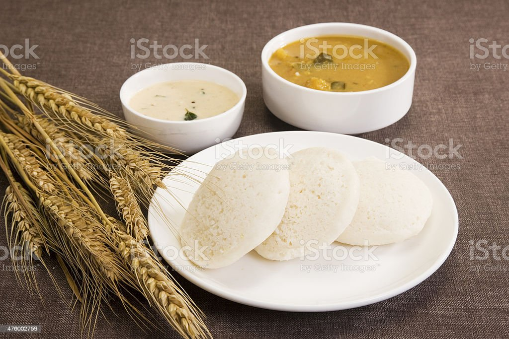 Sambar Idli royalty-free stock photo