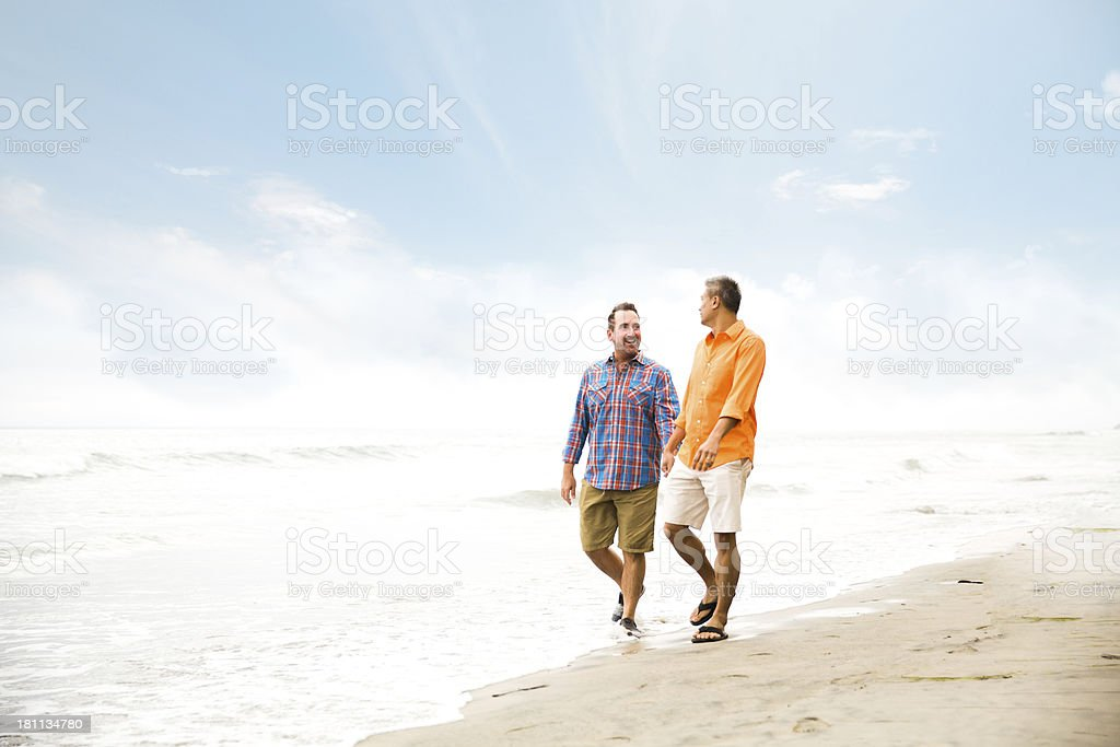 Same sex couple royalty-free stock photo