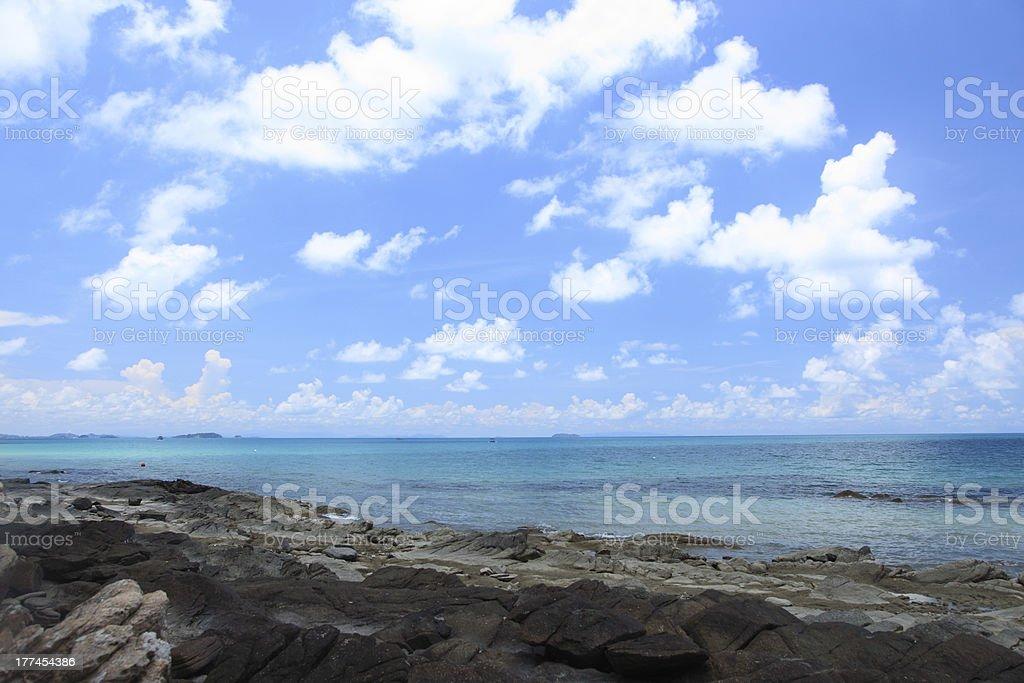 Samed Island at Rayong Thailand royalty-free stock photo