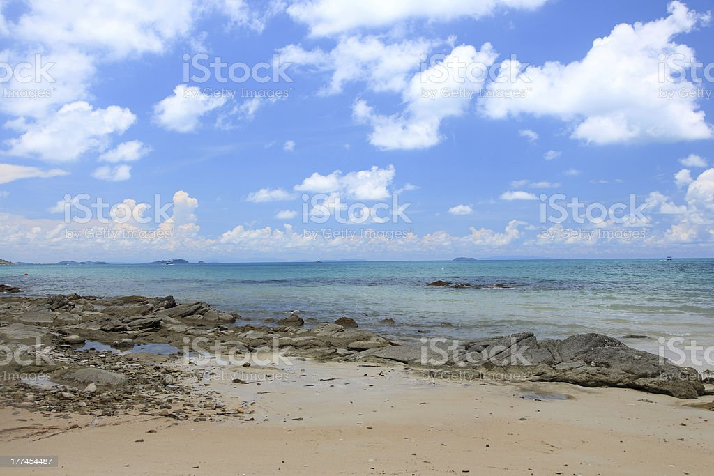 Samed Island at Rayong Thailand royalty-free stock photo