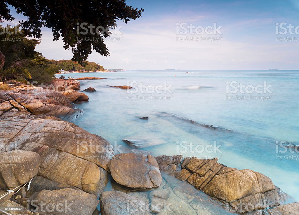 Samed Island in thailand royalty-free stock photo