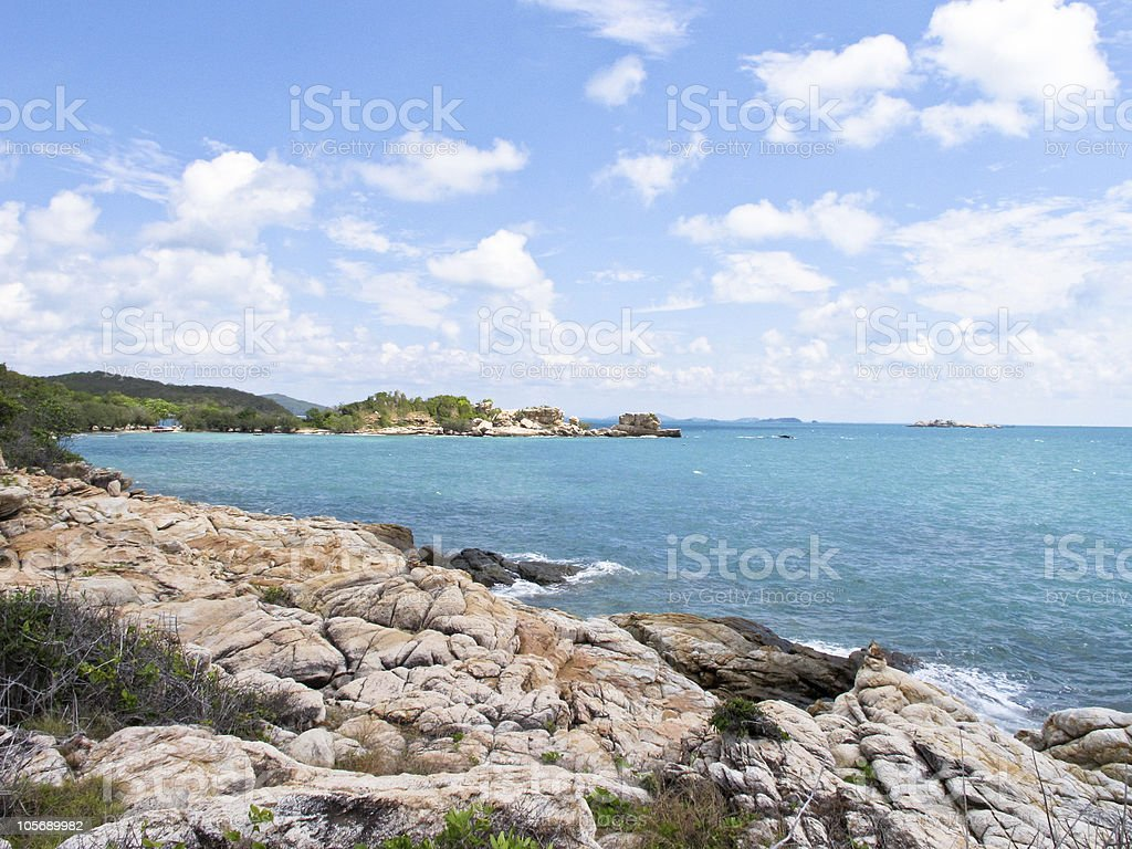 samed island royalty-free stock photo