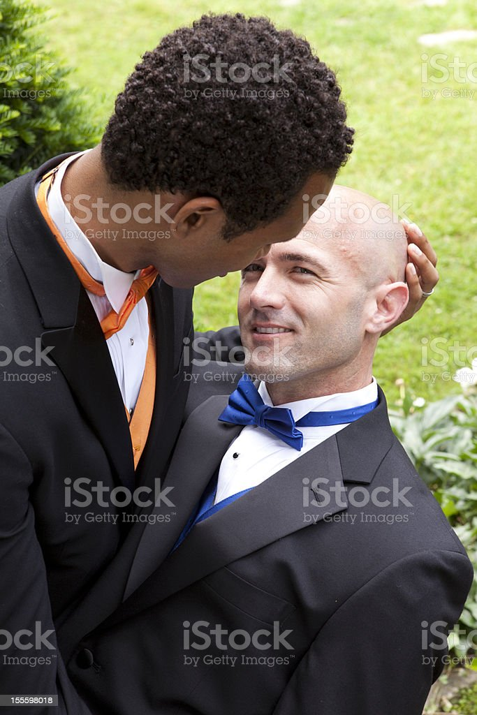 Same-Sex Couple royalty-free stock photo
