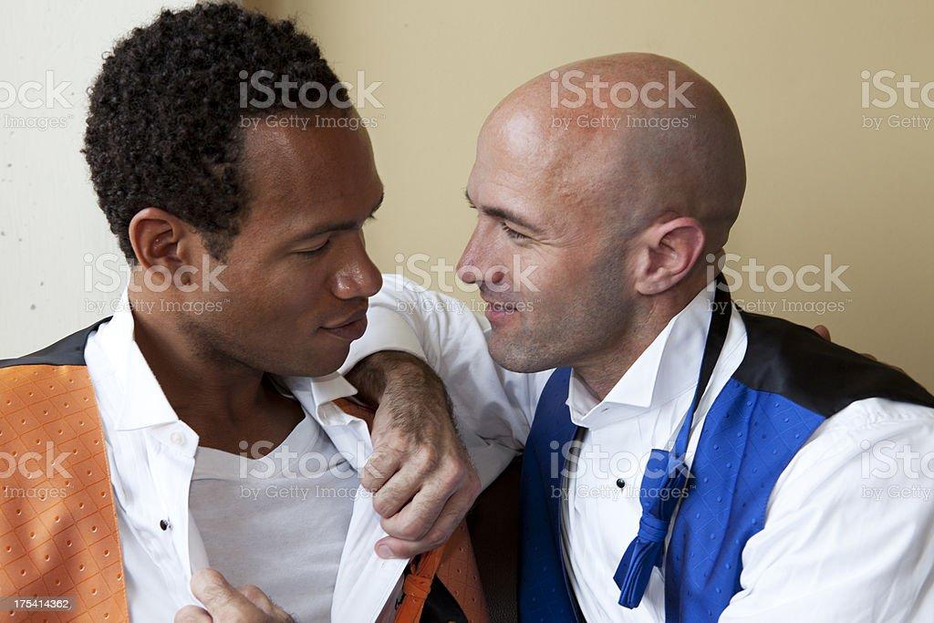 Same-Sex Marriage Couple royalty-free stock photo