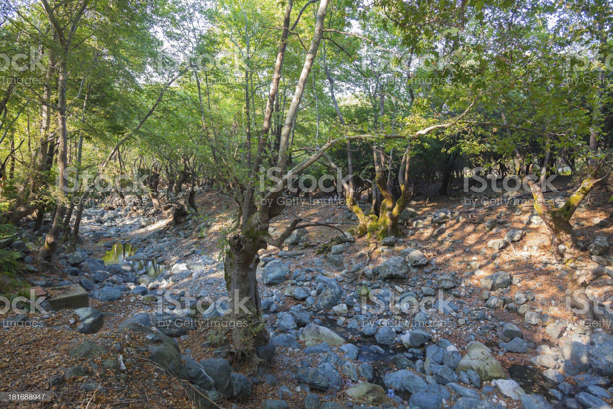 Samothrace island royalty-free stock photo