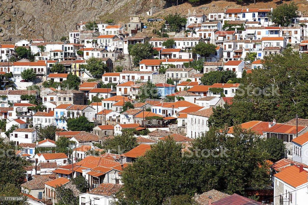 Samothraki island - Greece royalty-free stock photo