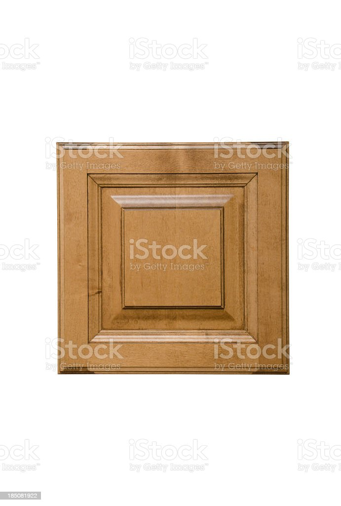 Sample Cabinet Door With Special Finish royalty-free stock photo