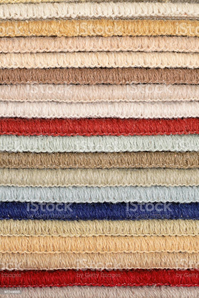 samples of carpet royalty-free stock photo