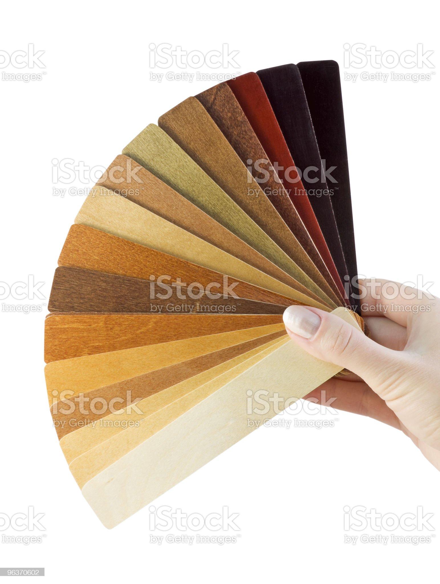 samples of wood coatings royalty-free stock photo