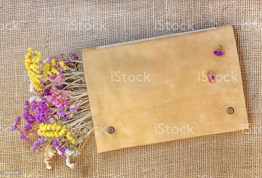 Sampling of stationery stock photo