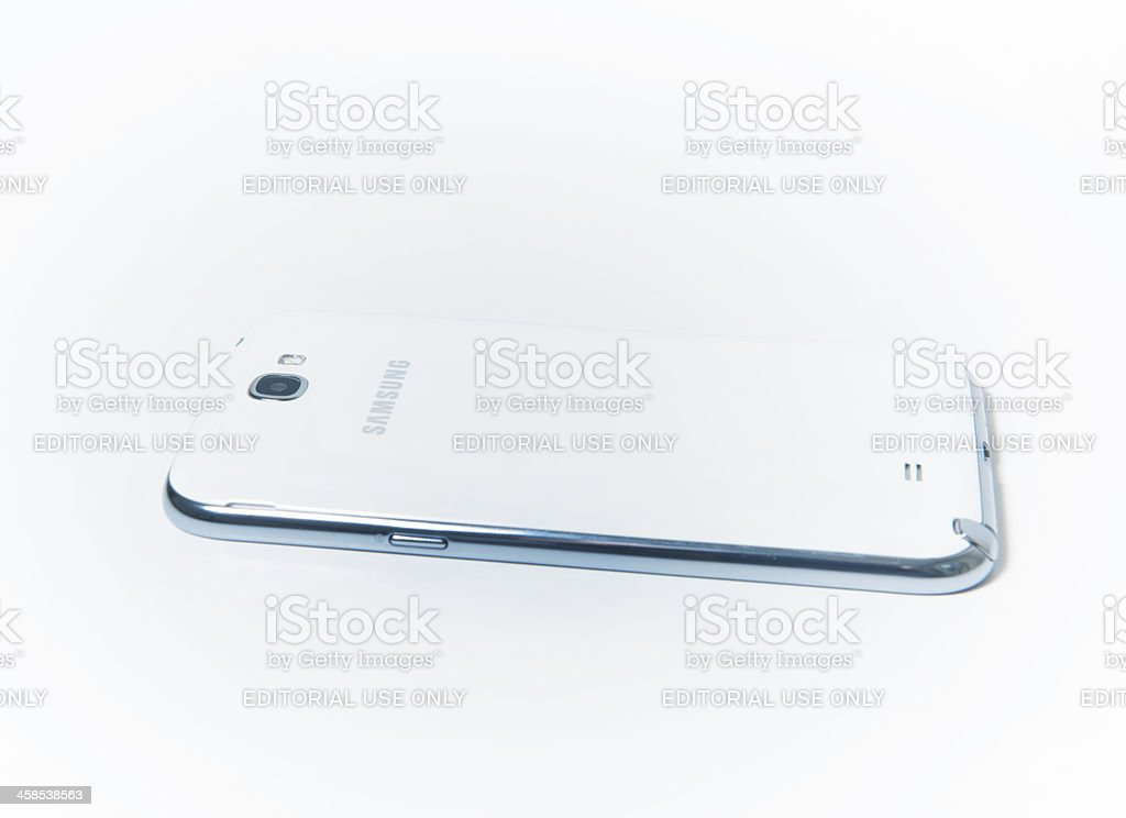 Samsung Galaxy Note 2 royalty-free stock photo
