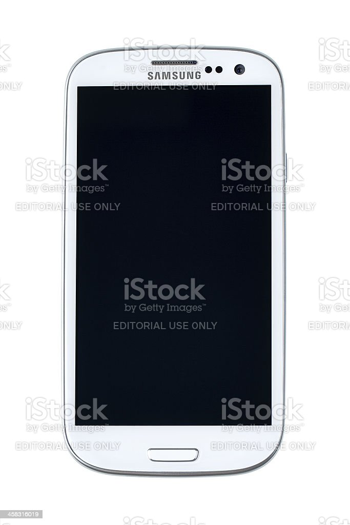 Samsung Galaxy S III stock photo