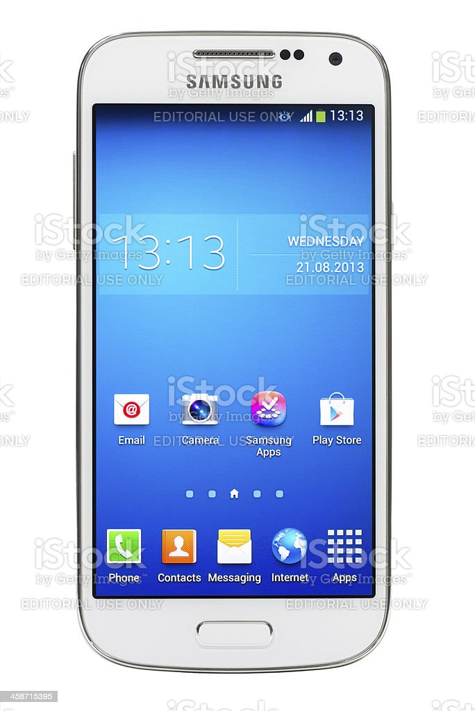 Samsung Galaxy S4 mini stock photo