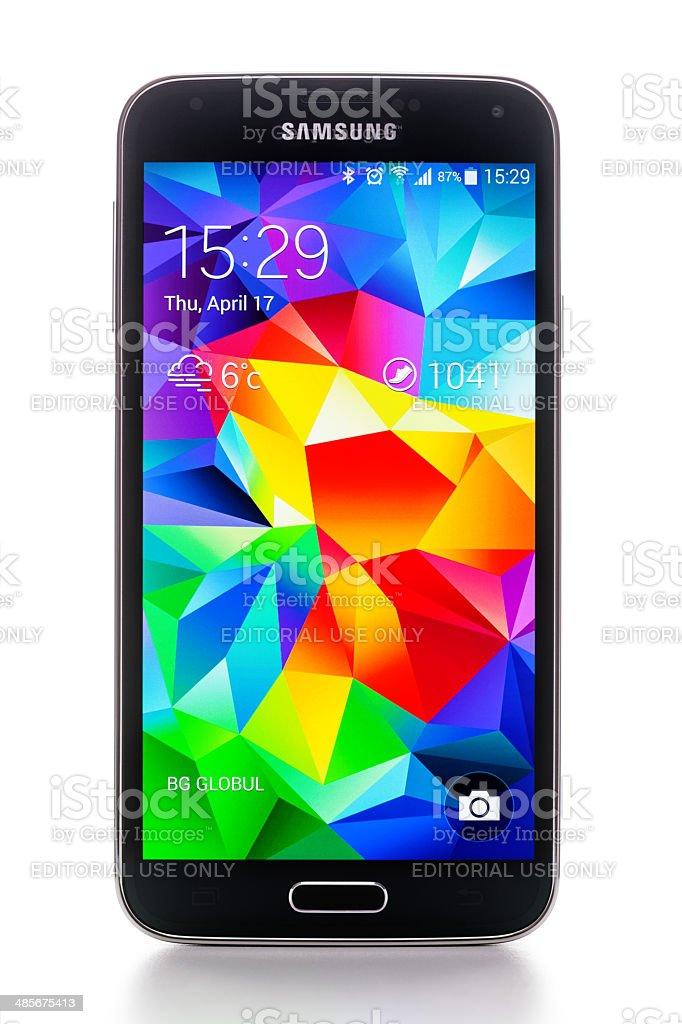 Samsung Galaxy S5 stock photo