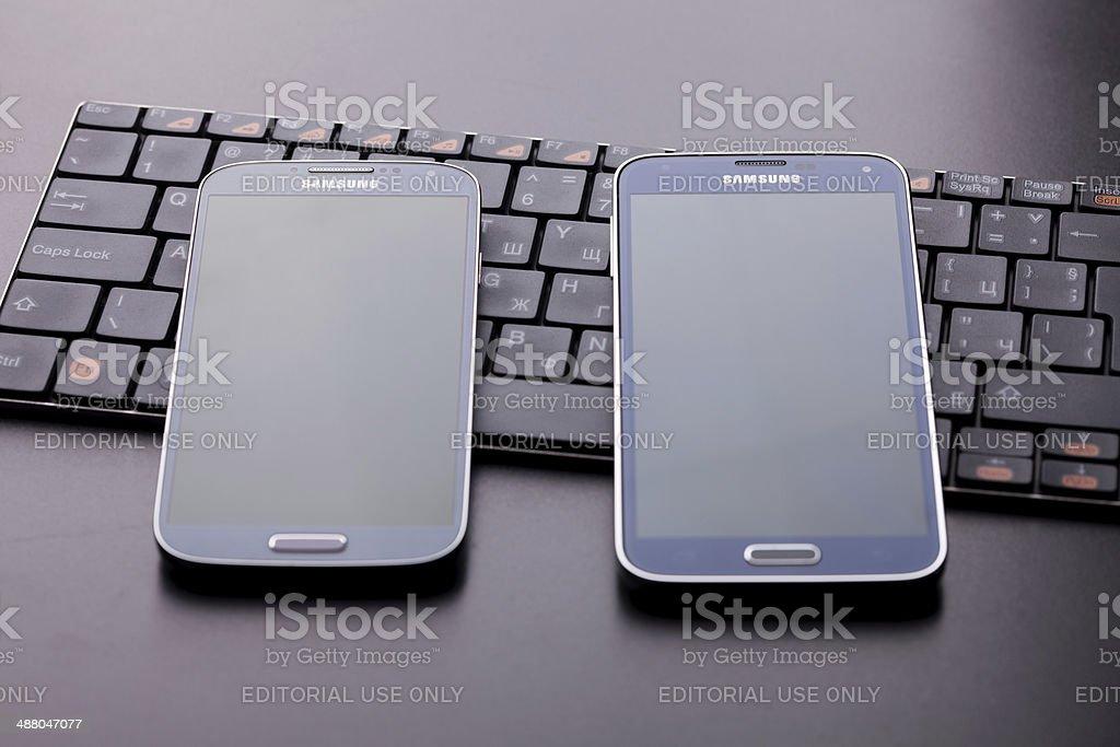 Samsung Galaxy S5 royalty-free stock photo