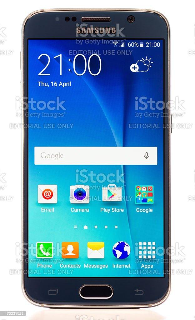 Samsung Galaxy S6 Smartphone stock photo