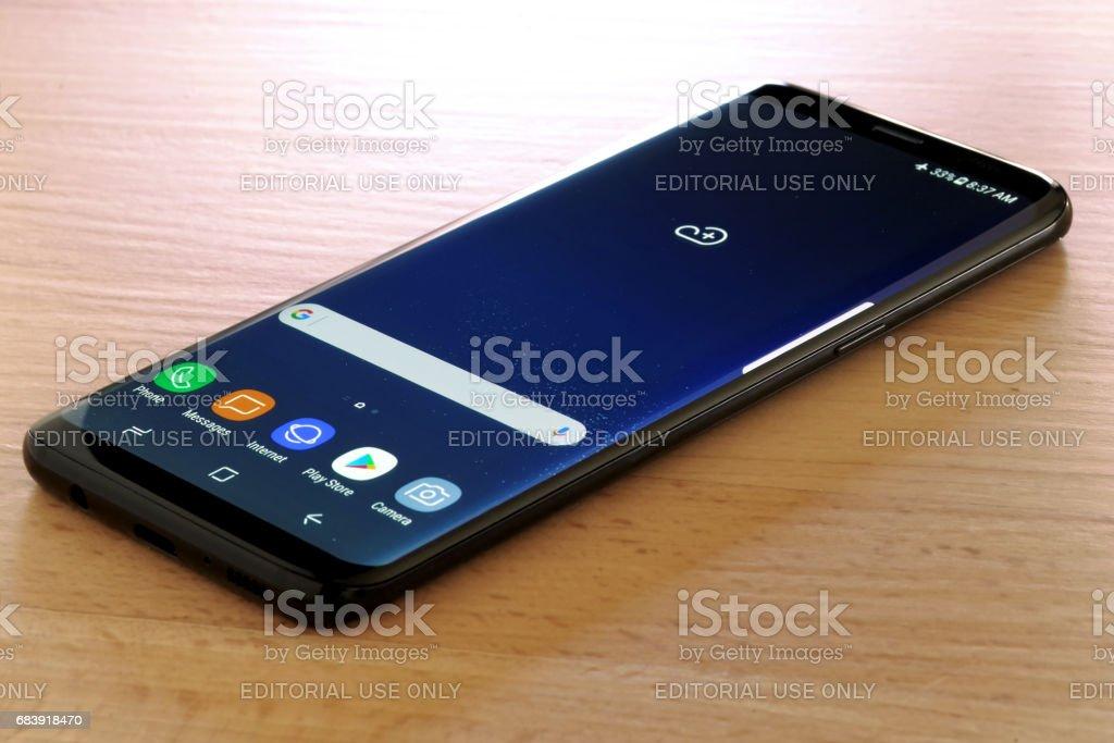 Samsung Galaxy S8 stock photo