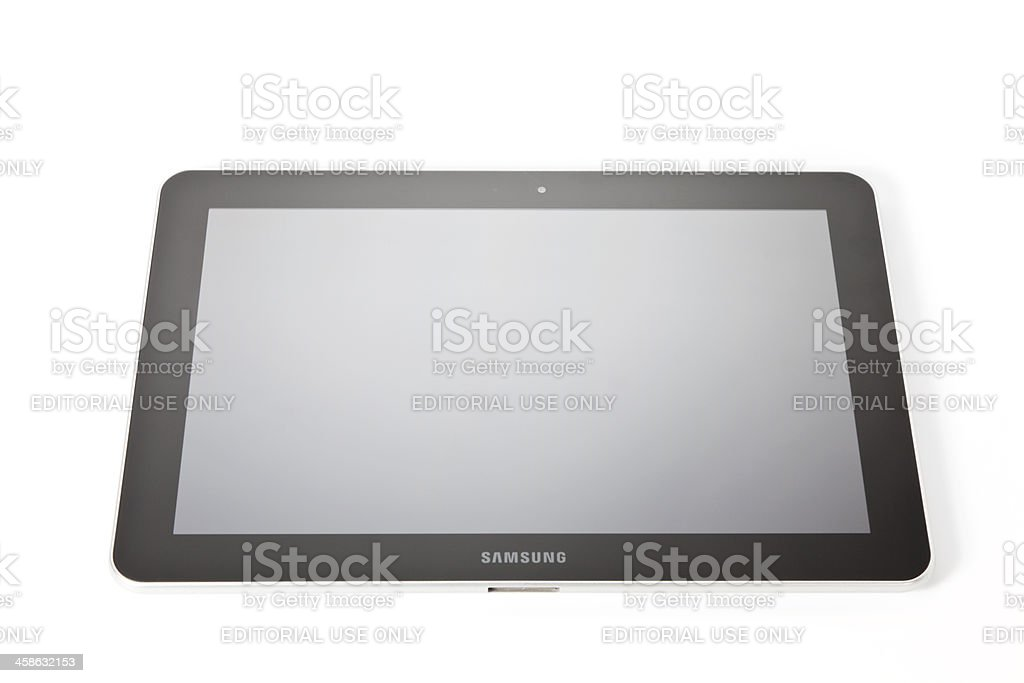 Samsung Galaxy Tab 10.1 royalty-free stock photo