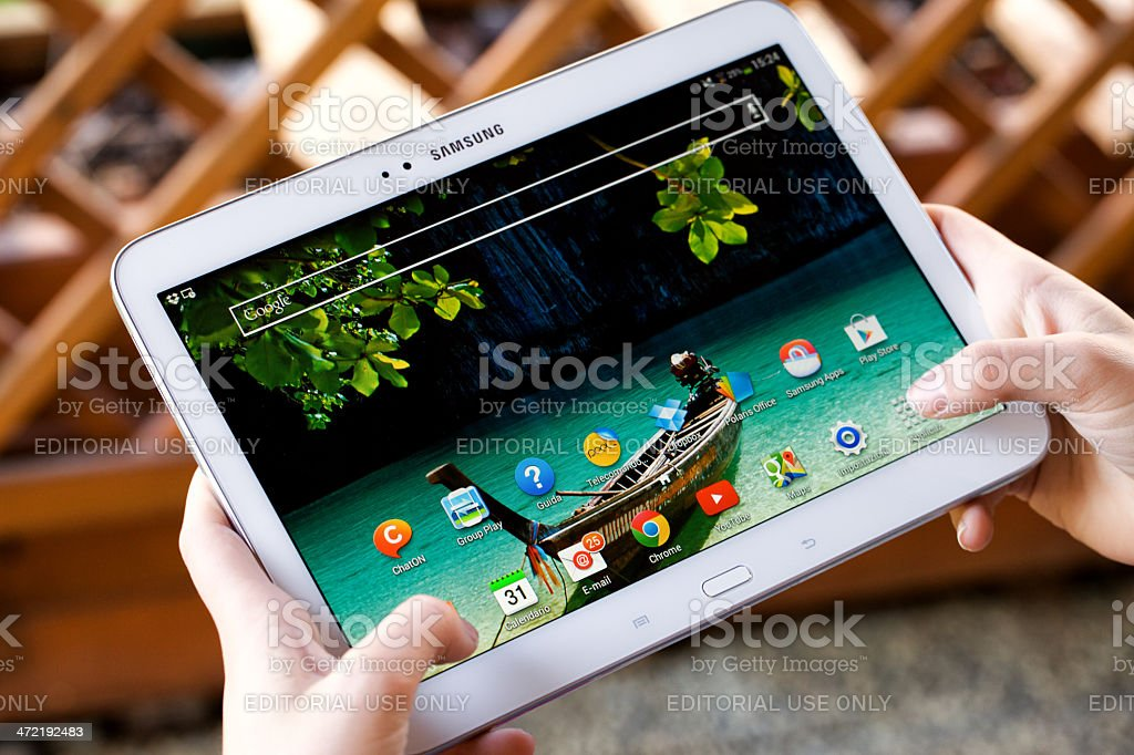 Samsung Galaxy Tab 3 royalty-free stock photo