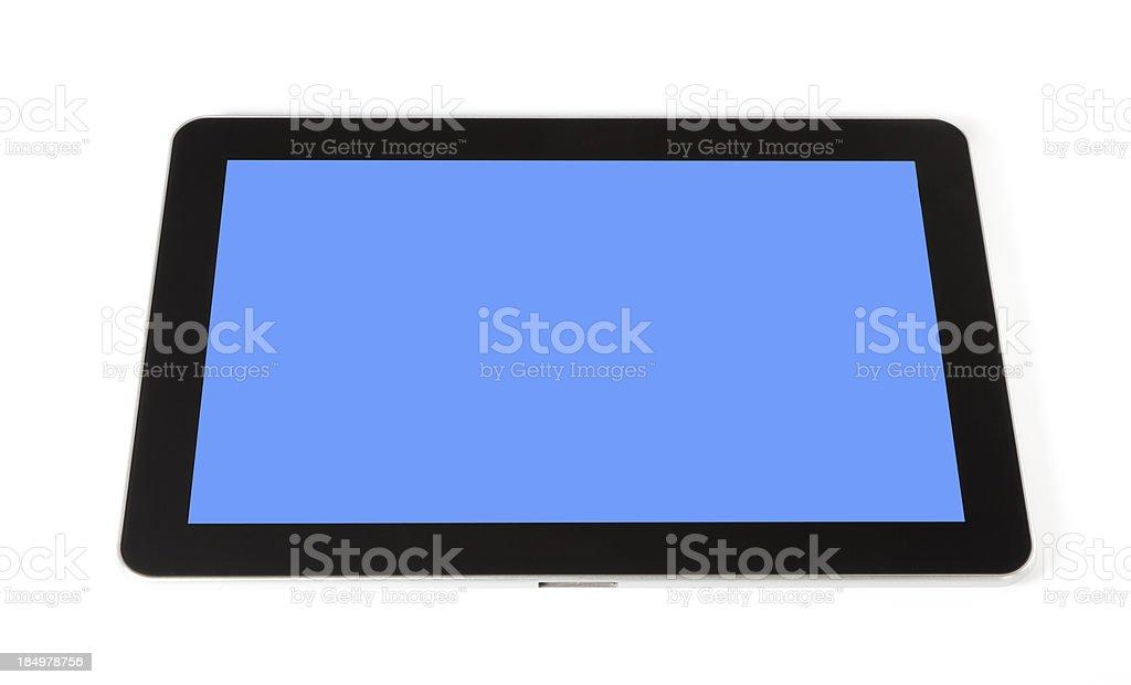 Samsung Galaxy Tab Shaped stock photo