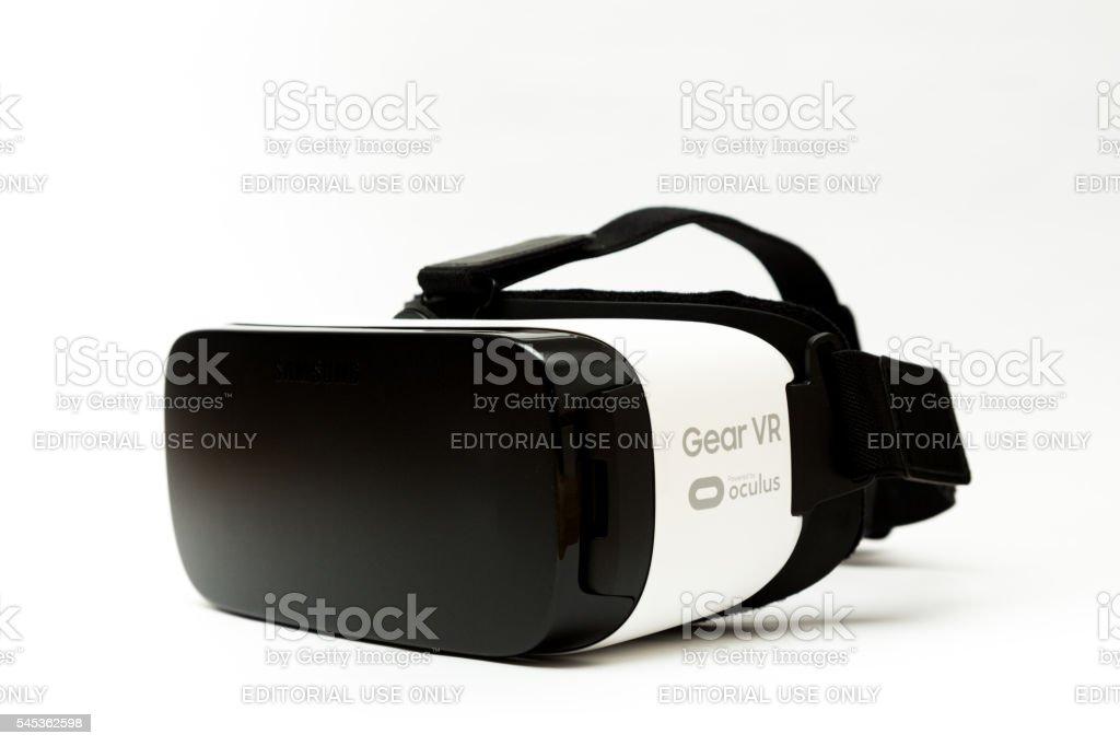 Samsung Gear VR Virtual Reality Goggles stock photo