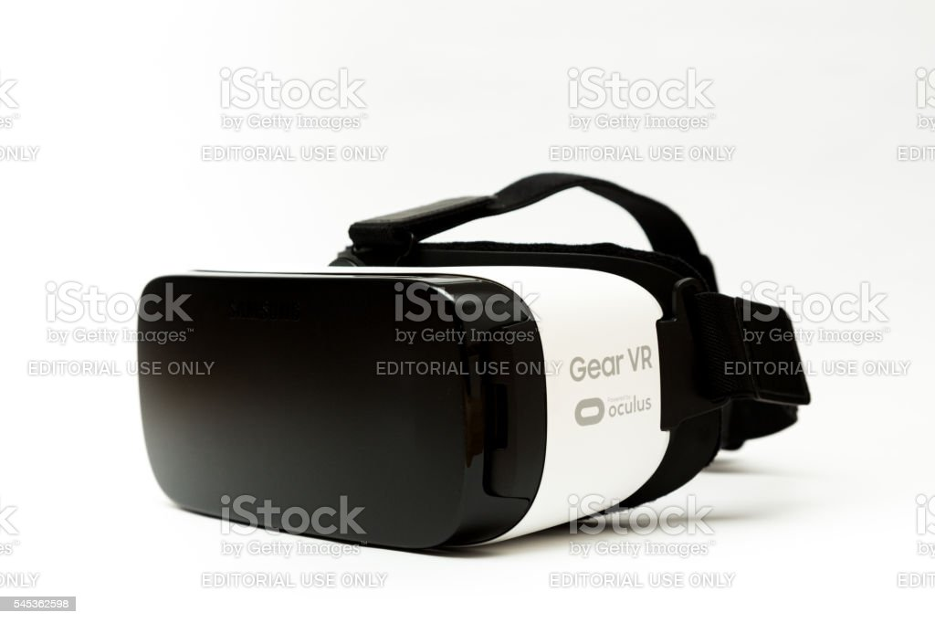 Samsung Gear VR Virtual Reality Goggles stock photo