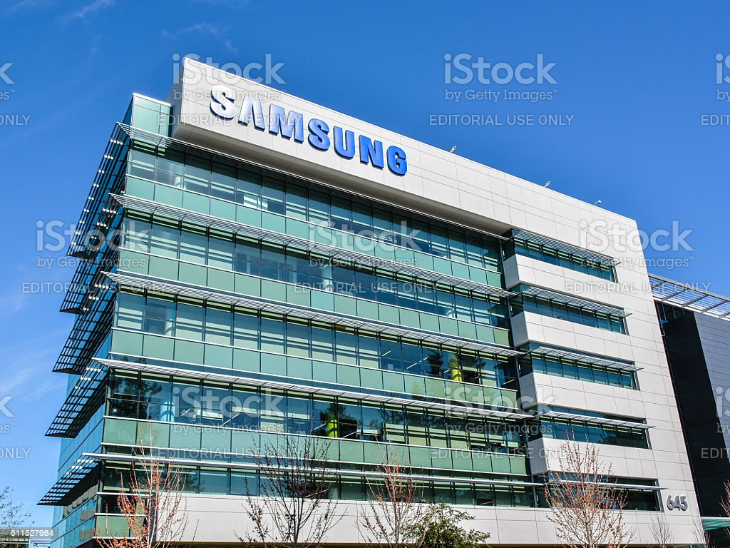 Samsung Research America, Mountain View, CA stock photo