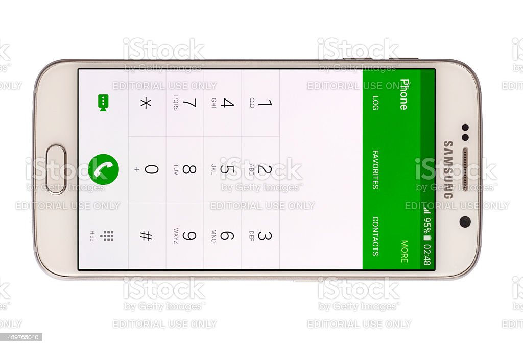 Samsung S6 stock photo