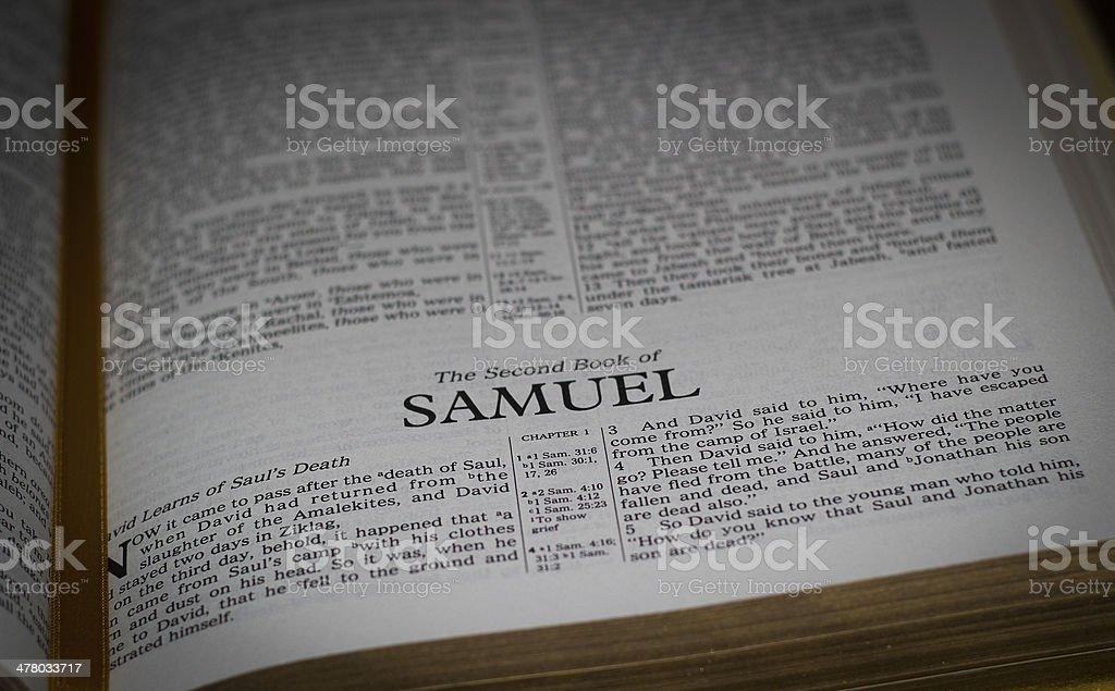 Samuel stock photo